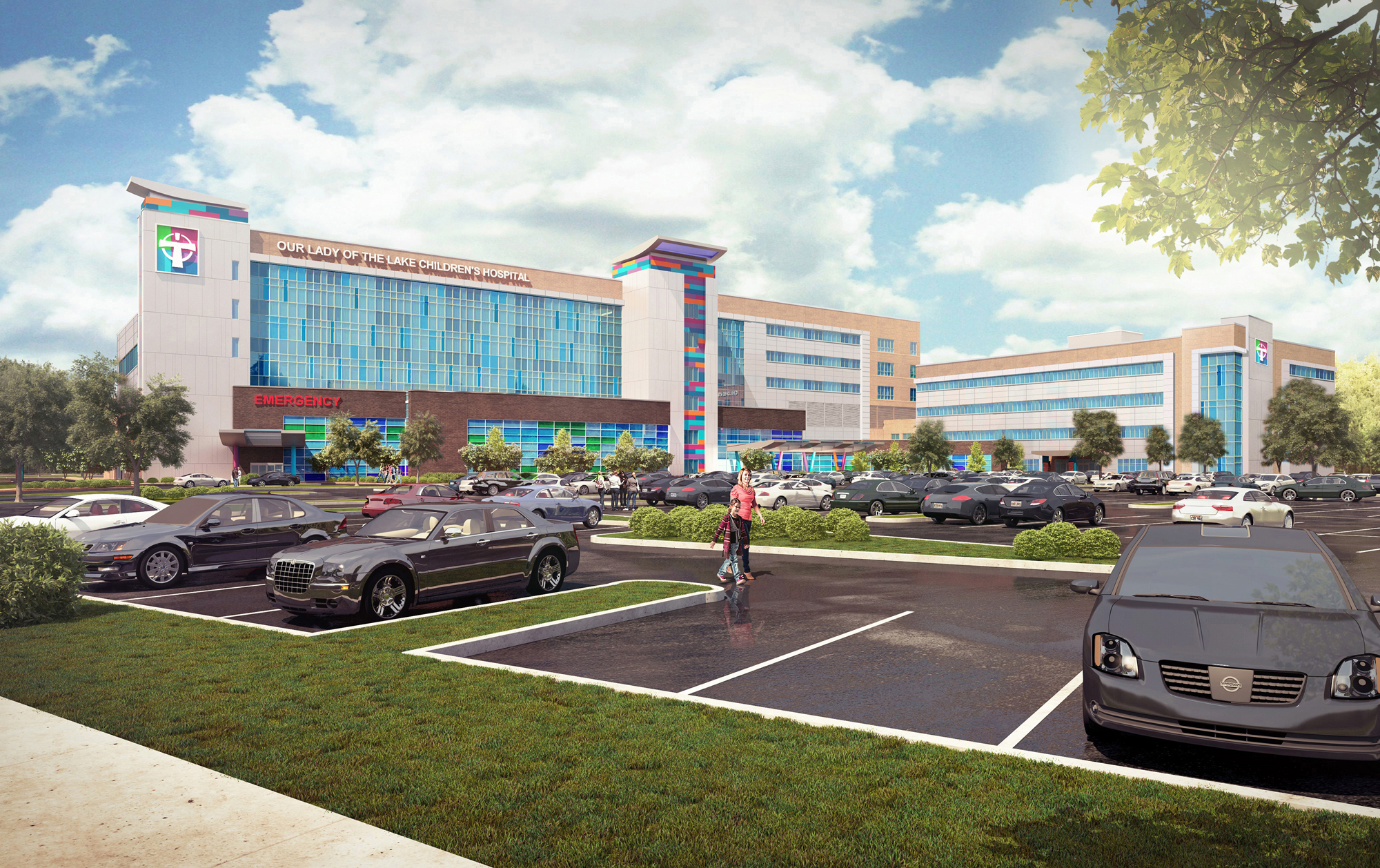 ADAMS is proud to be part of the OLOL Children's Hospital ground breaking